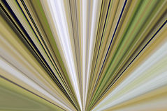 Fan Abstract. A digitally generated photo into a fan shaped abstract Royalty Free Stock Images