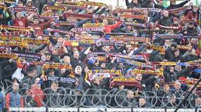 Fan AC Sparta Praga Zdjęcia Royalty Free
