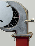 Fan for air. Centrifugal fan for supplying air to the solid fuel royalty free stock image
