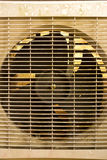 Fan of air-compressor Royalty Free Stock Image