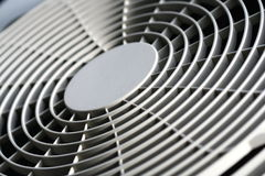 Fan of air conditioner background Royalty Free Stock Photography