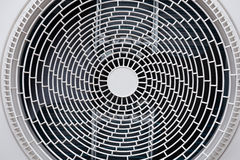 Fan of air conditioner Royalty Free Stock Photography