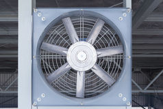 Fan Air Conditioner Stock Photo