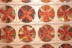 Fan arrangement pattern, very interesting Stock Image