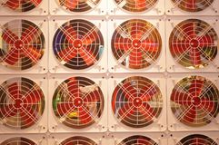 Fan arrangement pattern, very interesting Royalty Free Stock Photography