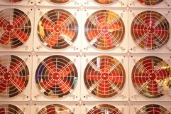 Fan arrangement pattern, very interesting Stock Photos