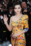 Fan Bing Bing. CANNES, FRANCE - MAY 12: Fan Bing Bing  attend the 'Robin Hood' Premiere at the Palais des Festivals during the 63rd Annual Cannes Film Festival Royalty Free Stock Image