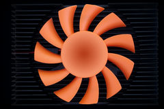 Fan blades Stock Photography