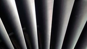 Fan blades Stock Images
