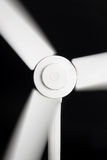 Fan blades in blurred motion Royalty Free Stock Photography