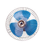 Fan with blue propeller Stock Image