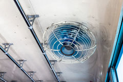 Fan in bus Stock Photography