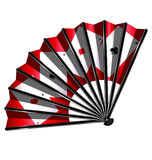 Fan and cards Royalty Free Stock Images