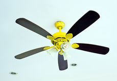 Fan on ceiling Stock Photos