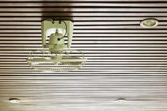 Fan on Ceiling Stock Photo