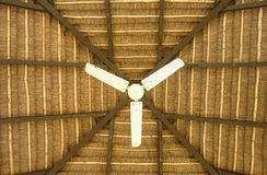 Fan in the ceiling Royalty Free Stock Photography