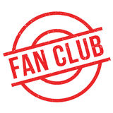 Fan club stamp Royalty Free Stock Photography