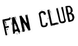 Fan club stamp Royalty Free Stock Image