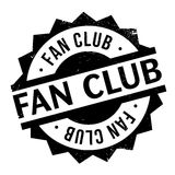 Fan club stamp Royalty Free Stock Photo