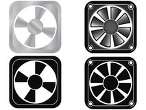 Fan cooler Stock Image