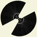 Fan For Cooling Vector 01. Fan For Cooling Isolated Illustration Vector Stock Photo