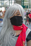 Fan in costume at an LA Anime Expo 2013 Stock Images
