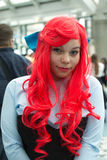 Fan in costume at an LA Anime Expo 2013 Royalty Free Stock Image