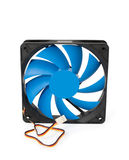 Fan for CPU cooler Stock Photo