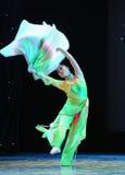 The fan dance-Folk dance Stock Photography