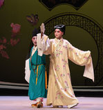 "With the fan dance-Kunqu Opera ""the West Chamber"" Royalty Free Stock Photo"
