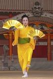 Fan Dancer Stock Images