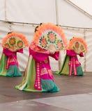 Fan Dancers Royalty Free Stock Image