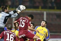 Fan de futebol rápidos de Bucareste Imagens de Stock