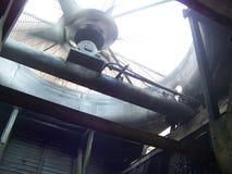Fan de la torre de enfriamiento Imagenes de archivo