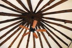 Fan de madera Foto de archivo