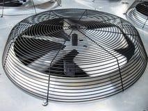 Fan del condensatore di HVAC immagine stock libera da diritti