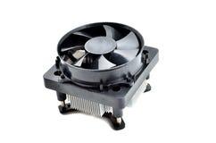 Fan del dispositivo di raffreddamento del dissipatore di calore dell'unità di elaborazione Immagini Stock
