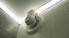 Fan dello sfiato del bagno Sistema di ventilazione del bagno immagine stock libera da diritti