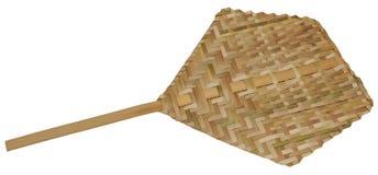 Fan di bambù Fotografie Stock Libere da Diritti