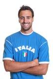 Fan di risata dall'Italia Fotografie Stock