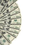 Fan of dollars Stock Photography