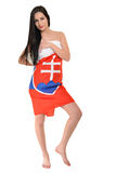 Fan eslovaca Imagenes de archivo