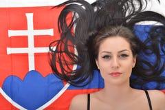 Fan eslovaca Foto de archivo