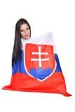 Fan eslovaca Imagen de archivo