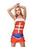Fan eslovaca Fotos de archivo