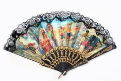 Fan from Espania Royalty Free Stock Photography