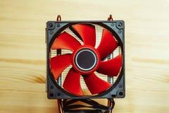 Fan för CPU Royaltyfri Fotografi