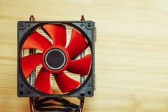 Fan för CPU Royaltyfri Foto