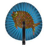Fan and fish Stock Photography