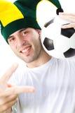 fan futbol Zdjęcie Stock